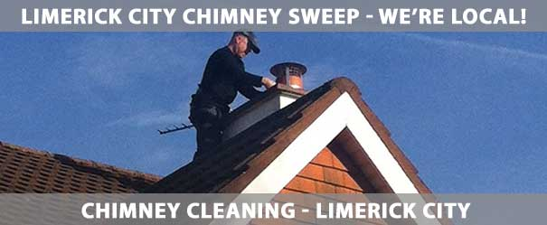 Chimney Cleaner Limerick City | We clean chimneys throughout Limerick City including Thomand, Caherdavin, Corbally, Raheen, Annacotty, Castletroy, Mungret and Clarina. | Ph: (085) 1840747